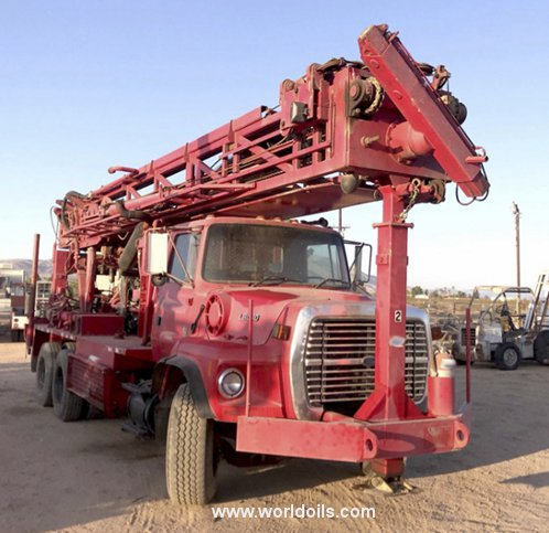 Schramm T660W Drilling Rig - For Sale