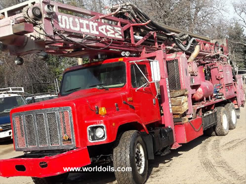 Schramm T660WS Drill Rig in USA