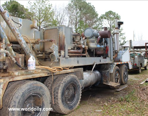 Schramm T985 Used Drilling Rig for Sale