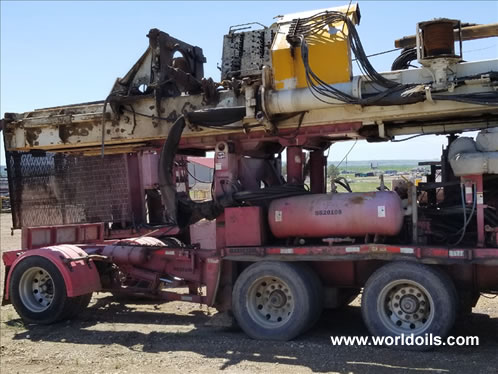 Schramm TXD Drilling Rig - 2009 Built - For Sale