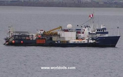 Seismic Ship - 56m for Sale