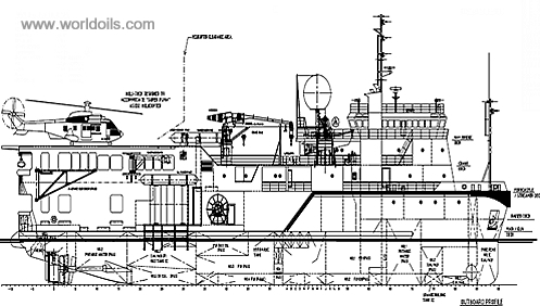 67.8m Seismic Support Vessel for Sale