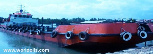 Self Propelled Oil Barge - 2007 Built - for Sale