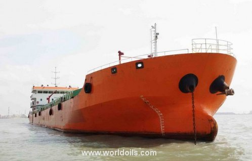 Self Propelled Oil Barge - 2012 Built - for Sale