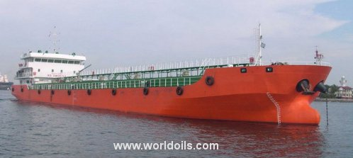 Self Propelled Oil Barge - 88m - For Sale