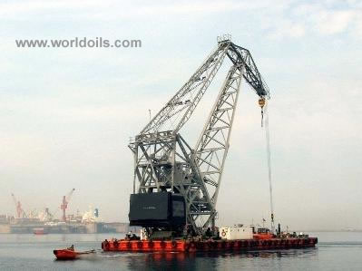 Self Propelled Crane Barge for Sale