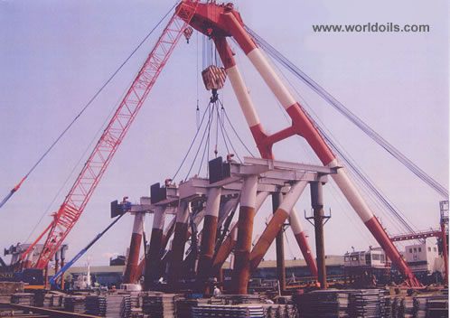 500Ton Crane barge For Sale