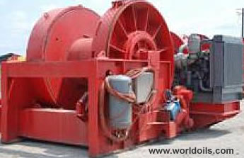 Right Hand Single Drum Winch for Charter