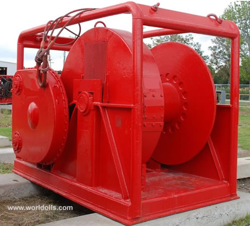 Rig Winch for Lease