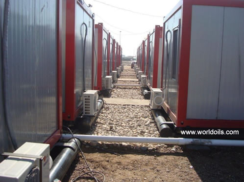 Skidded Container Camps