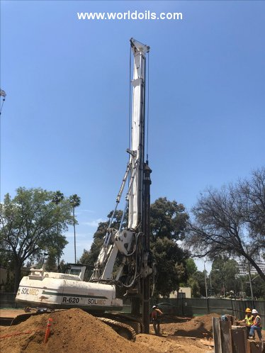 Soilmec R-620 Crawler Drilling Rig - For Sale