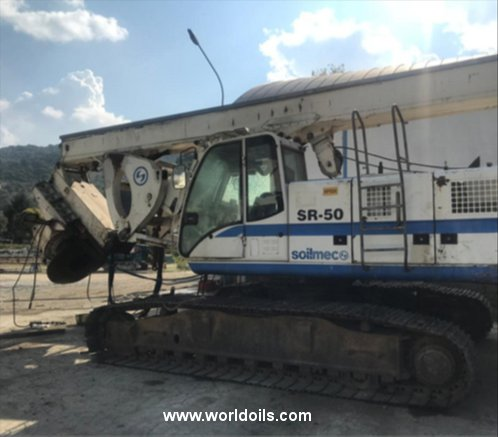 Soilmec SR50 Drilli Rig For Sale