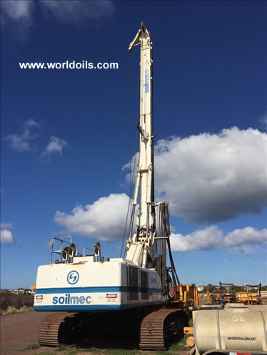 Soilmec SR90 Hydraulic Drilling Rig for Sale