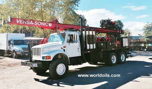 Versa Drill Sonicor 50K Head Drill Rig - For Sale