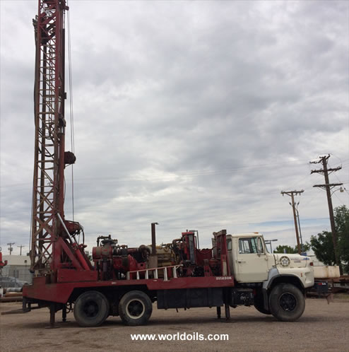 Speedstar 30K Drill Rig -1989 Built - for Sale