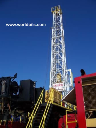Spencer Harris 7000 Trailer Mounted Drilling Rig