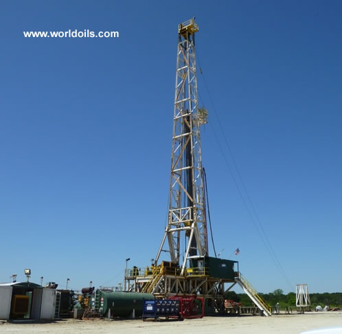 Spencer Harris 7000 Mechanical Drilling Rig for Sale