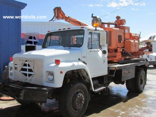 Sterling CH7 Caisson Drill Rig - 1984 Built - For Sale