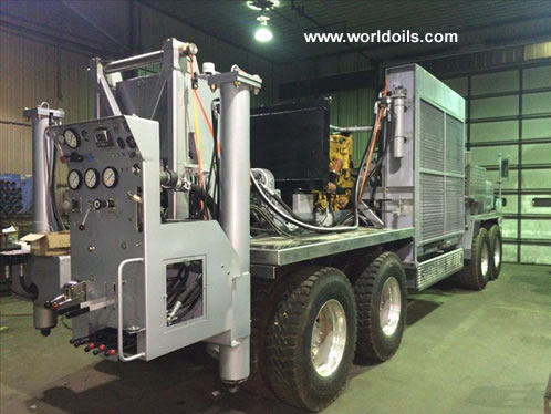 2015 Rebuilt T4W DH Drill Rig for Sale