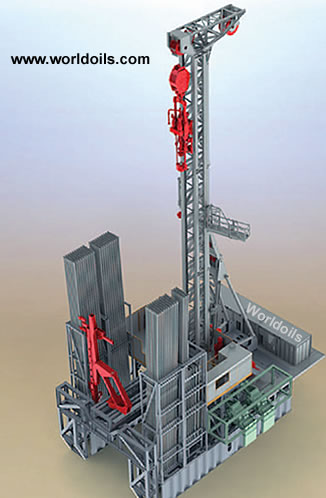 Hydraulic Land Drilling Rig - New 2000HP for Sale