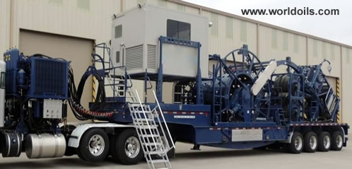 2013 Built Coiled Tubing Unit for Sale