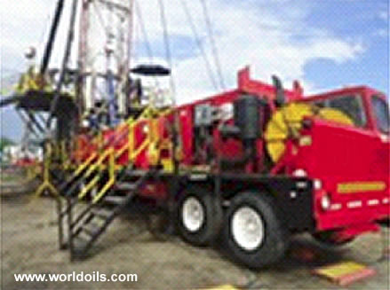 Electrical Drilling Rig Taylor 350 HP - Trailer mounted - For Sale
