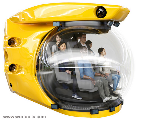 12.5FT Tourist Submersible for Sale