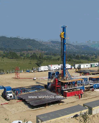 Parallelogram Style Drilling Rig - For Sale