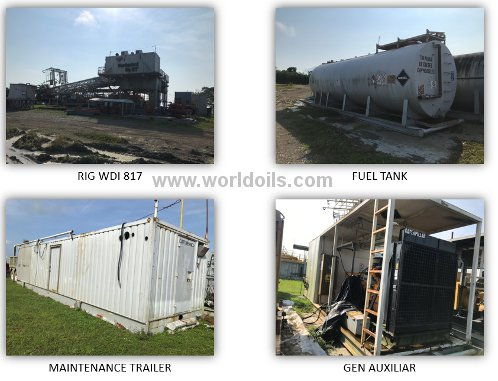 Trailer Mounted Telescopic Mast, Double Rig - For Sale