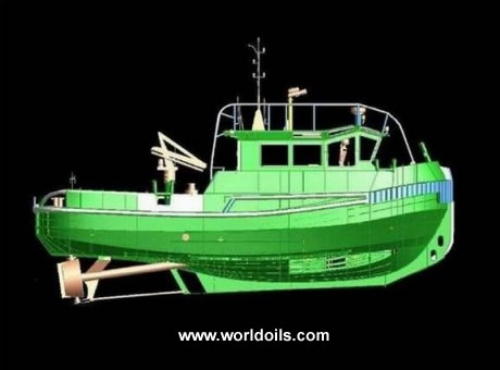 New Twin Screw Tug Boat for Sale