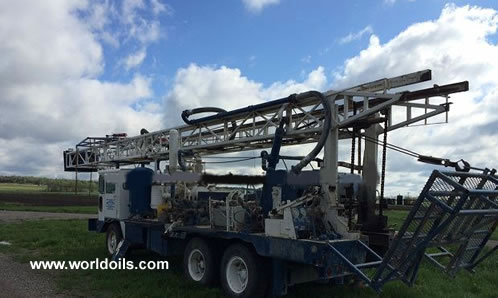 1976 Built Speedstar SS-22 Drill Rig for Sale