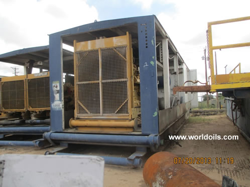 Continental Emsco A550 SCR Electric Drill Rig for Sale