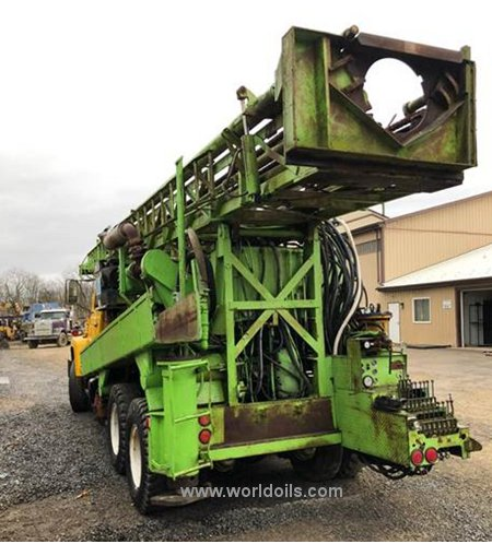 Used Chicago Pneumatic 650 Drilling Rig for Sale
