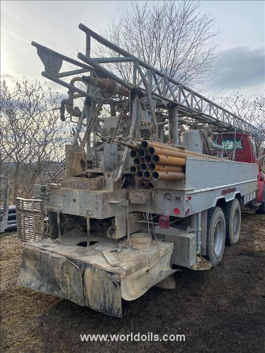 Davey Rouselle Used Drilling Rig for Sale