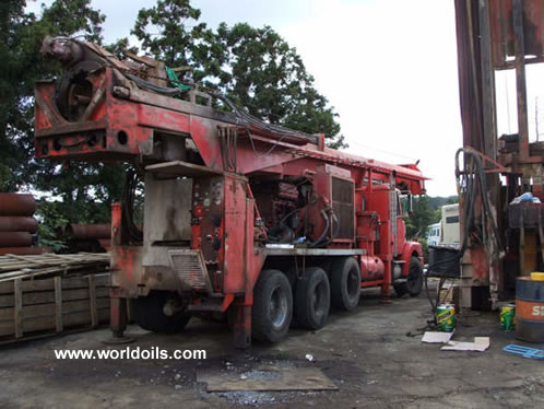 Foremost Barber DR12/36 Used drill rig for sale