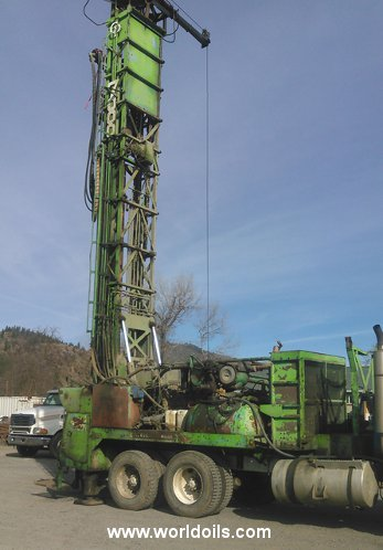 Used Drilling Rig - Chicago Pneumatic - for Sale