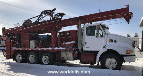 Used Drilling Rig - Foremost Barber DR12 PTO