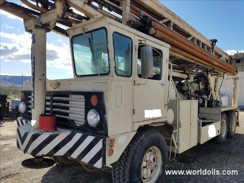 Used Drilling Rig - Ingersoll-Rand T4W