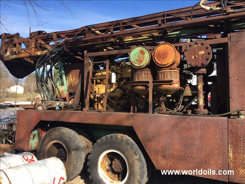 Used Drilling Rig Chicago Pneumatic for sale
