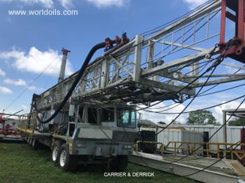 2012 Built Carrier Mounted Telescopic Mast for Sale