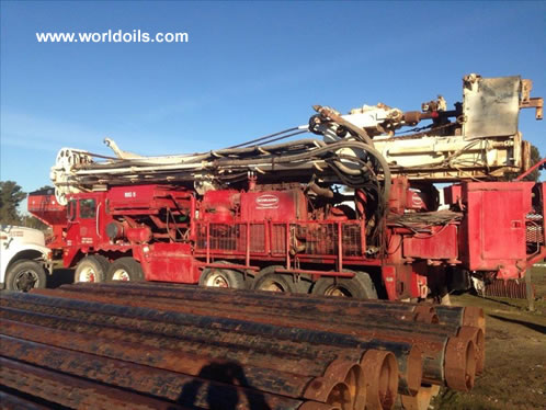 Schramm T130 Used Drill Rig in USA