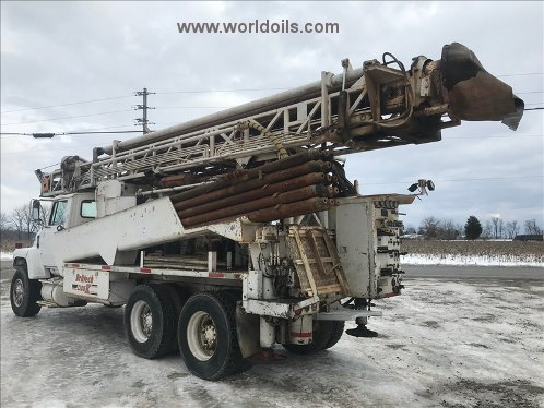 Used Driltech T25K3W Drilling Rig for Sale