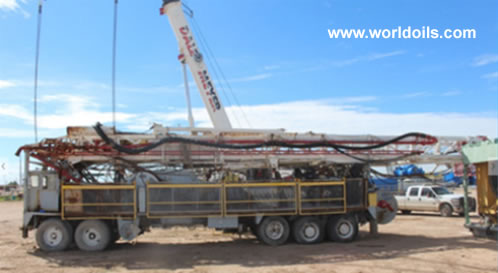 Used IDECO H44 Truck Mounted Drilling Rig for Sale