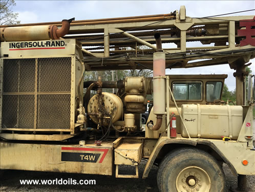 Used Ingersoll-Rand Drilling Rig - 1987 built - for Sale