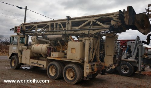 Used Ingersoll-Rand T4W Drill Rig for Sale