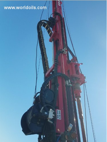 Used Mobile B37X Crawler Drilling Rig for Sale
