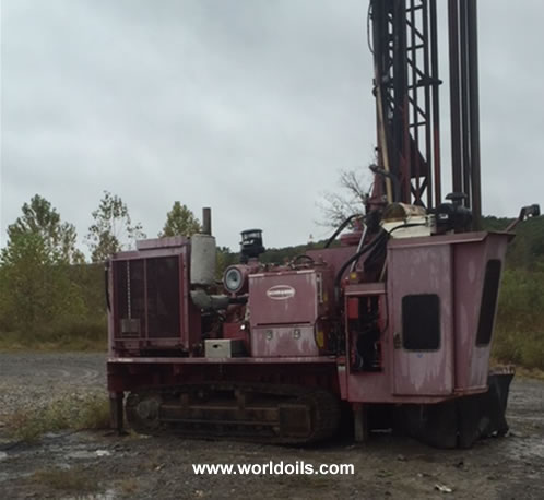 Schramm Drilling Rig - 2004 Built - For Sale