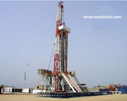 VFD Land Drilling Rig (Chinese) - 2000hp - for sale