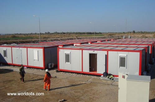Accommodation Containers on Skids