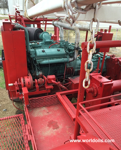 Wilson Mogul Workover Rig for Sale